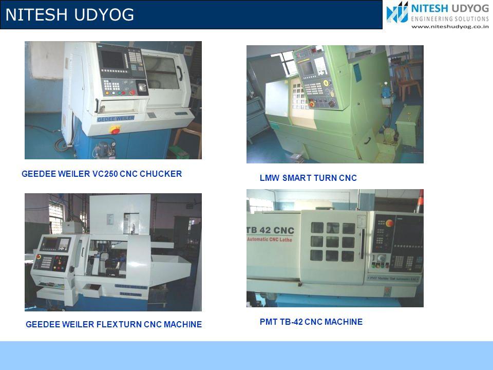 GEEDEE WEILER VC250 CNC CHUCKER