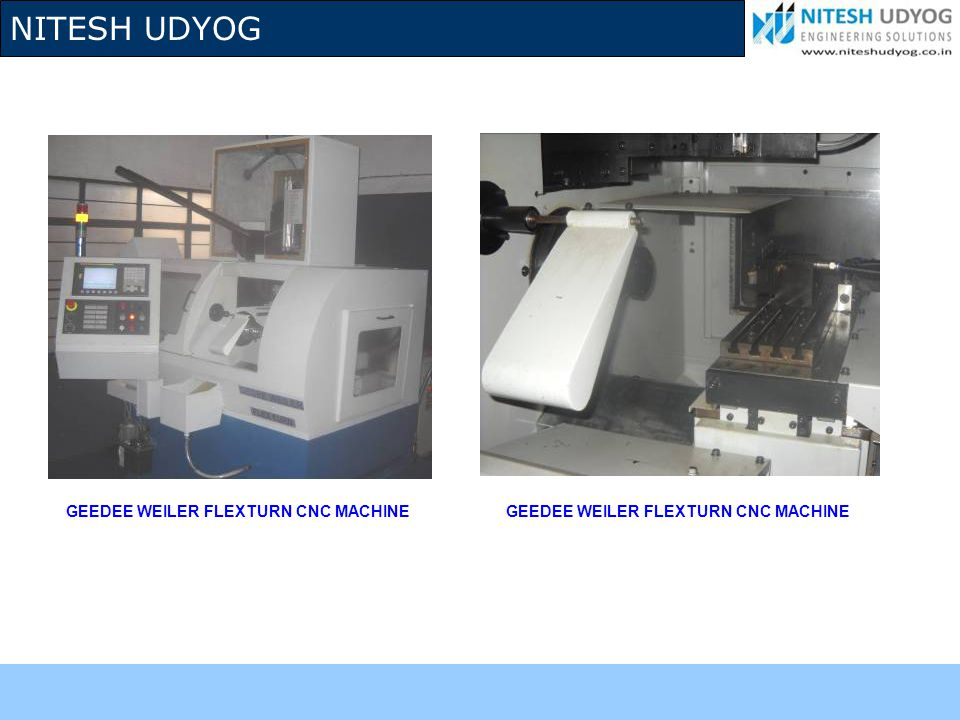 GEEDEE WEILER FLEXTURN CNC MACHINE
