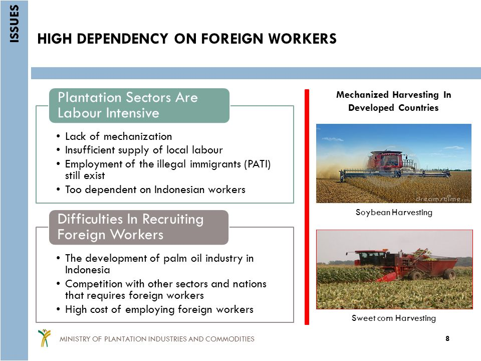 HIGH DEPENDENCY ON FOREIGN WORKERS