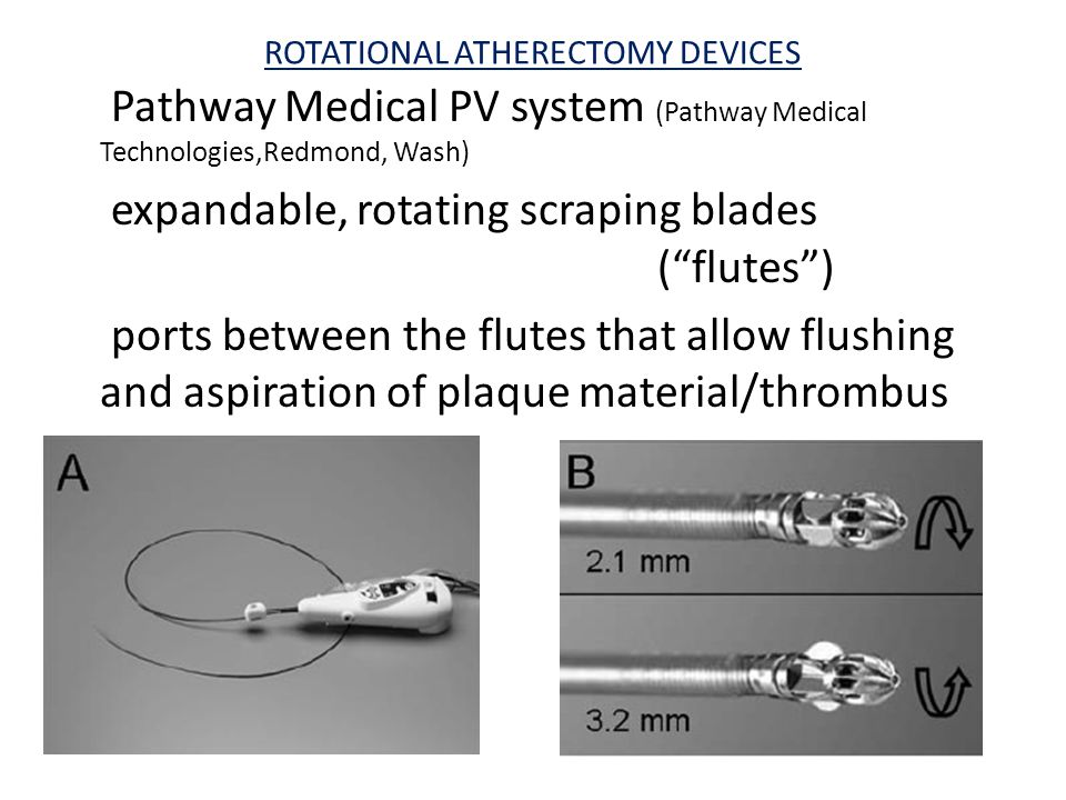 ROTATIONAL ATHERECTOMY DEVICES