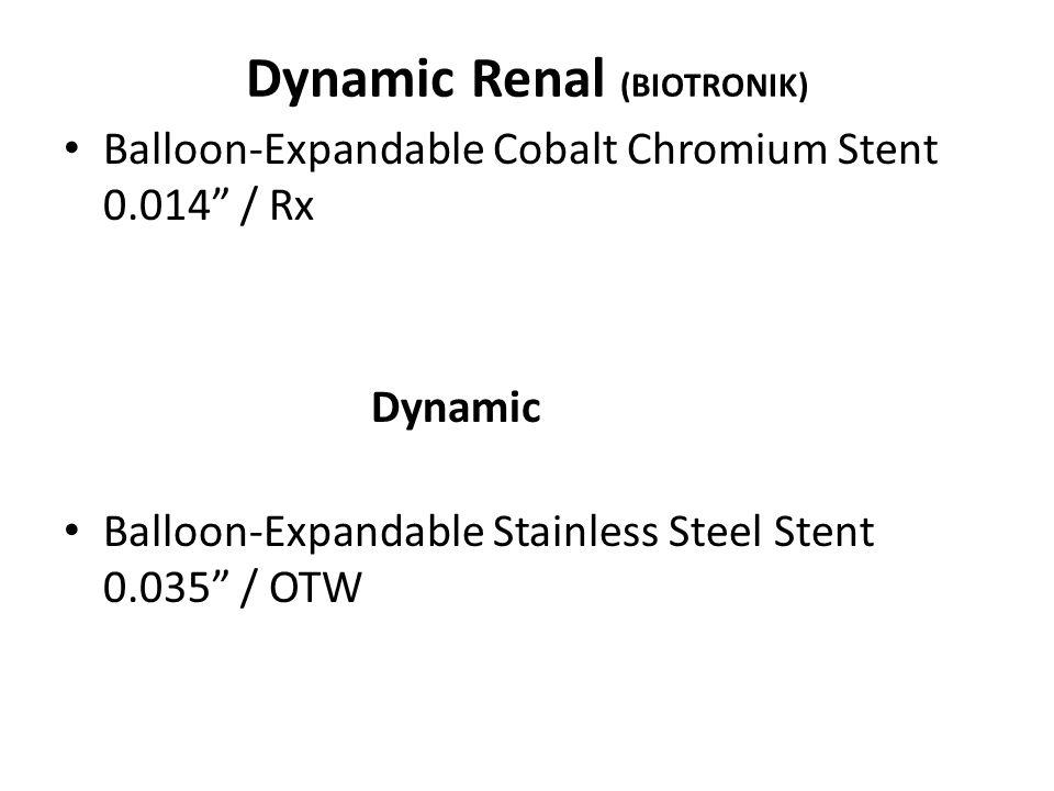 Dynamic Renal (BIOTRONIK)