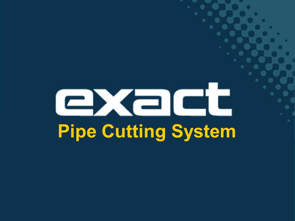 Pipe Cutting System