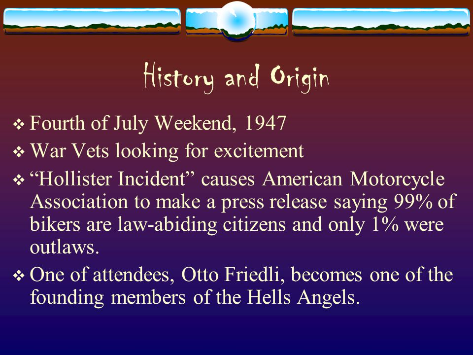 History and Origin Fourth of July Weekend, 1947