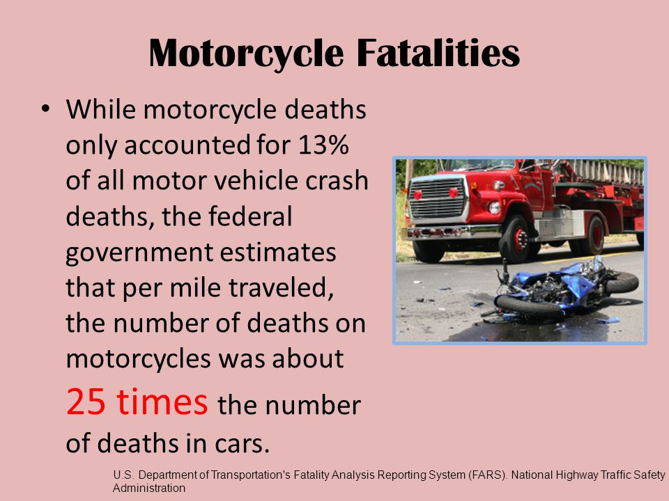 Motorcycle Fatalities