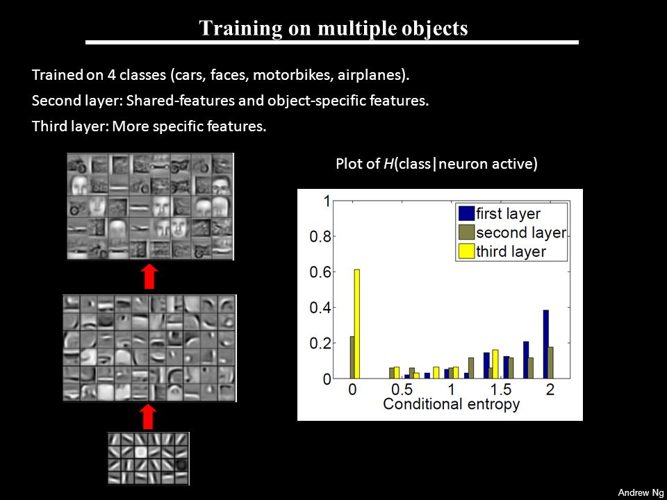 Training on multiple objects