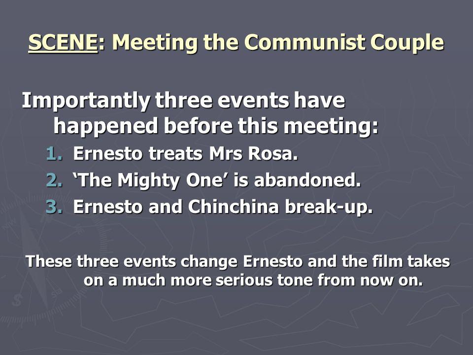 SCENE: Meeting the Communist Couple