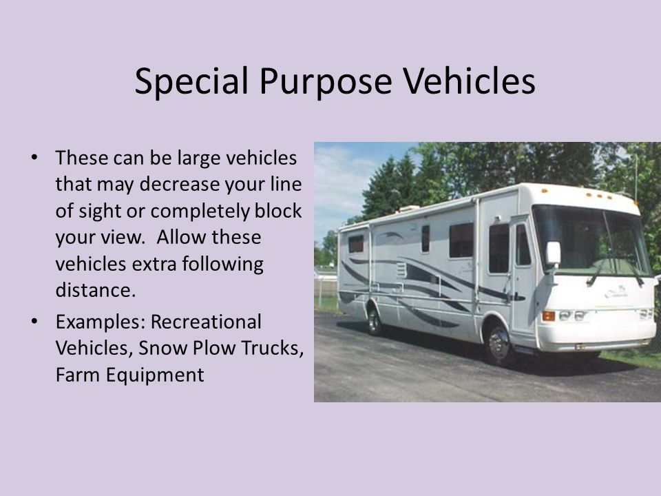 Special Purpose Vehicles