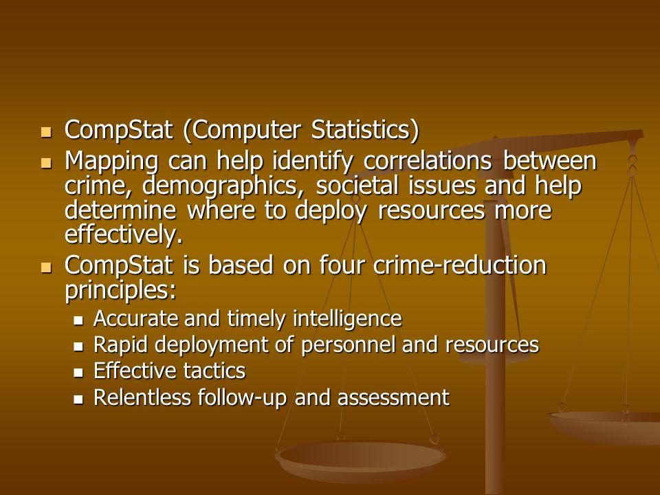 CompStat (Computer Statistics)