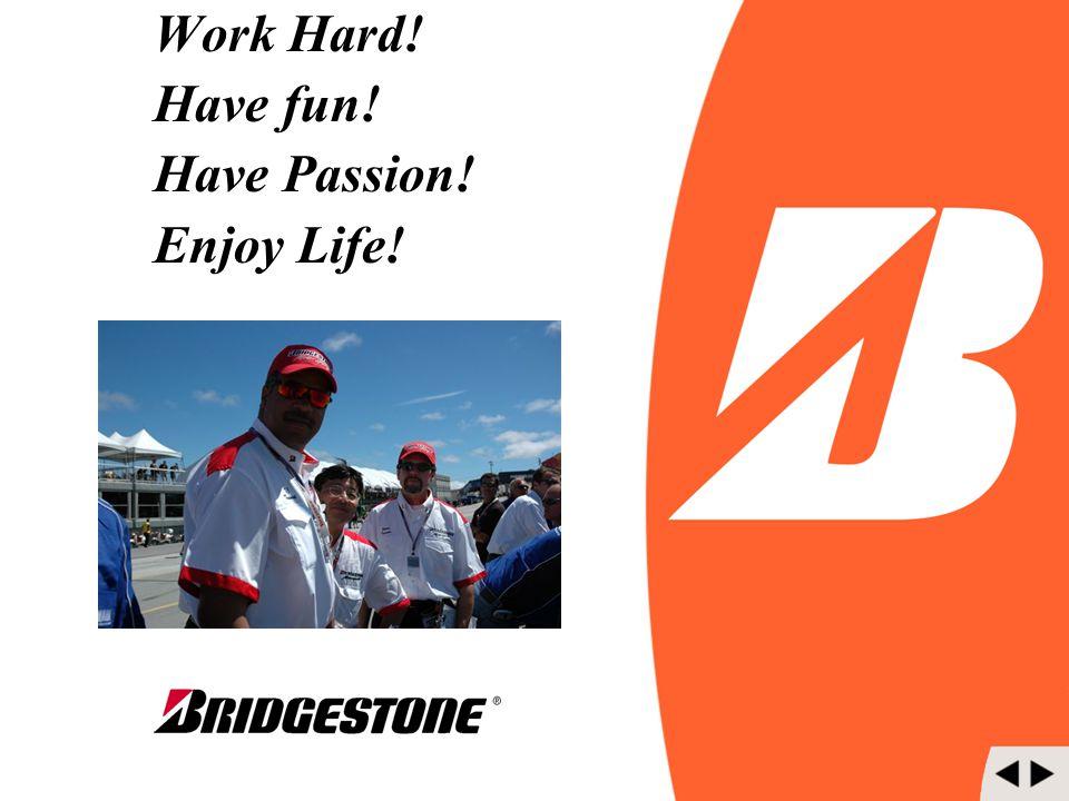 Work Hard! Have fun! Have Passion! Enjoy Life!