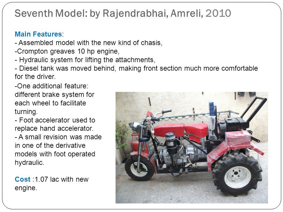 Seventh Model: by Rajendrabhai, Amreli, 2010