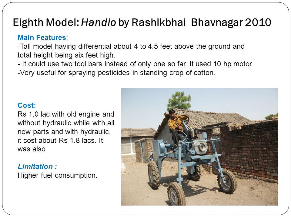 Eighth Model: Handio by Rashikbhai Bhavnagar 2010