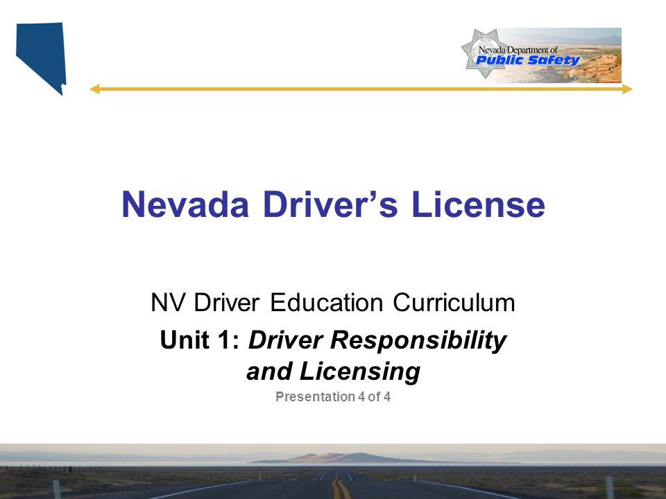 Nevada Driver's License