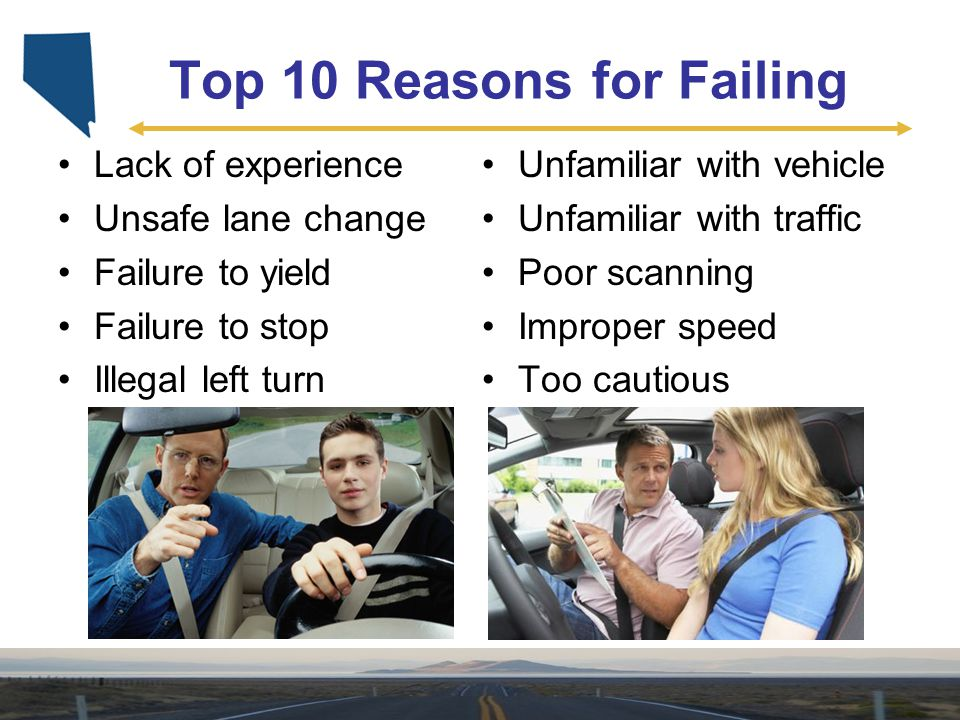 Top 10 Reasons for Failing