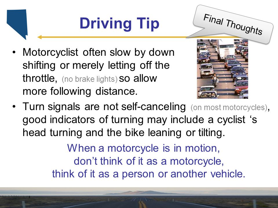 Driving Tip Final Thoughts.