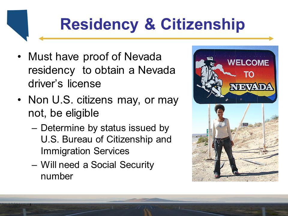 Residency & Citizenship