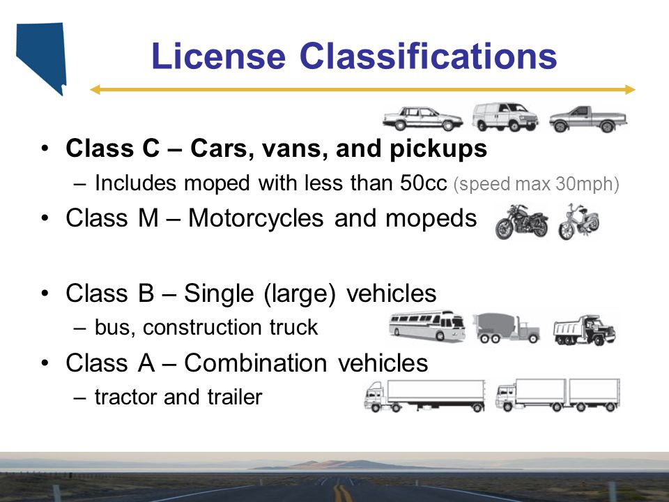 License Classifications