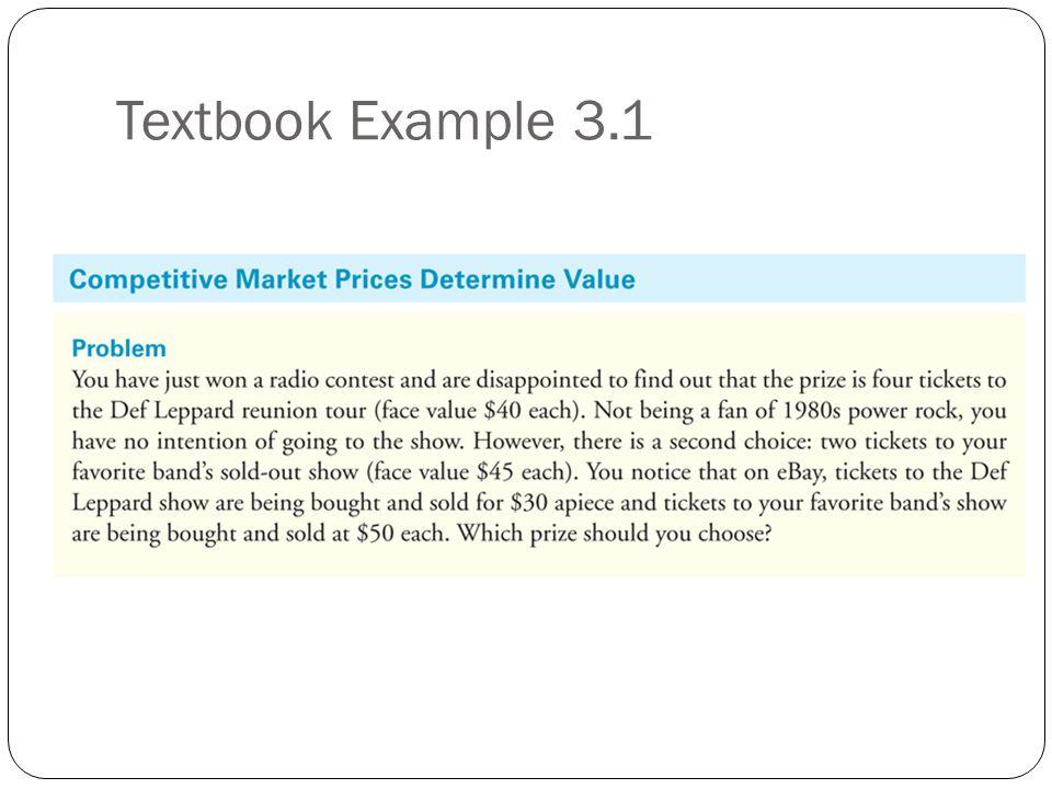 Textbook Example 3.1