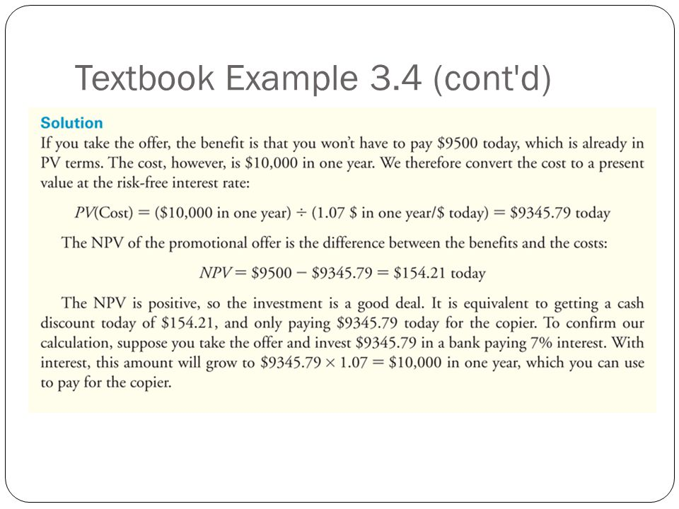 Textbook Example 3.4 (cont d)