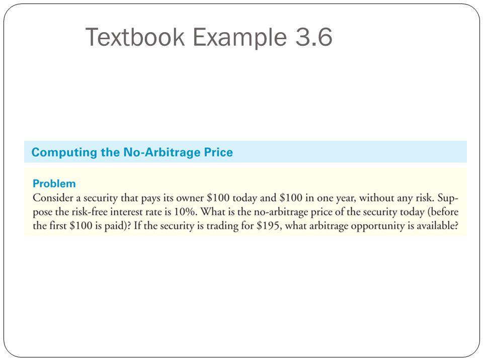Textbook Example 3.6