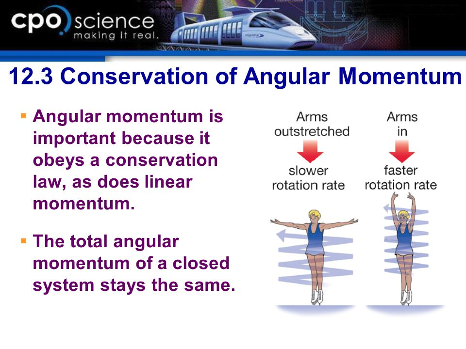 12.3 Conservation of Angular Momentum