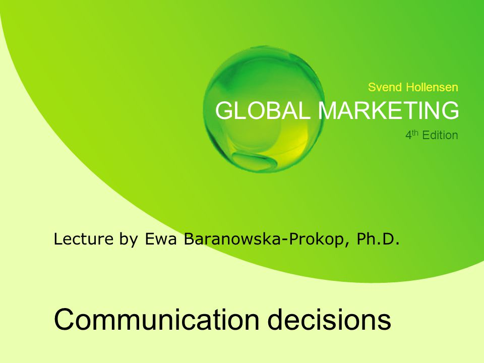 Communication decisions