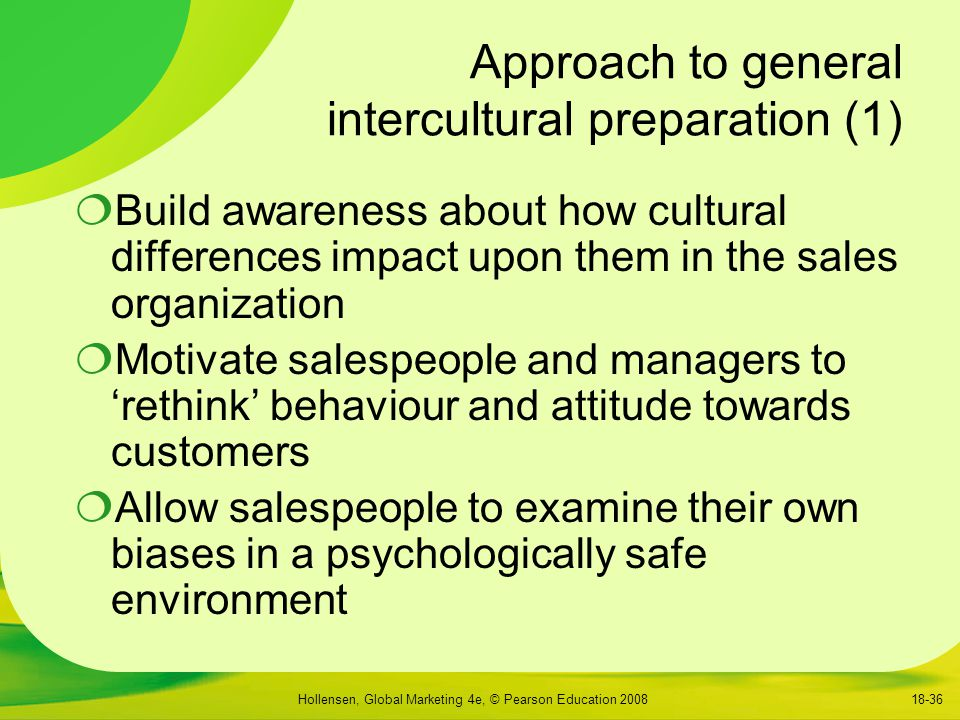 Approach to general intercultural preparation (1)