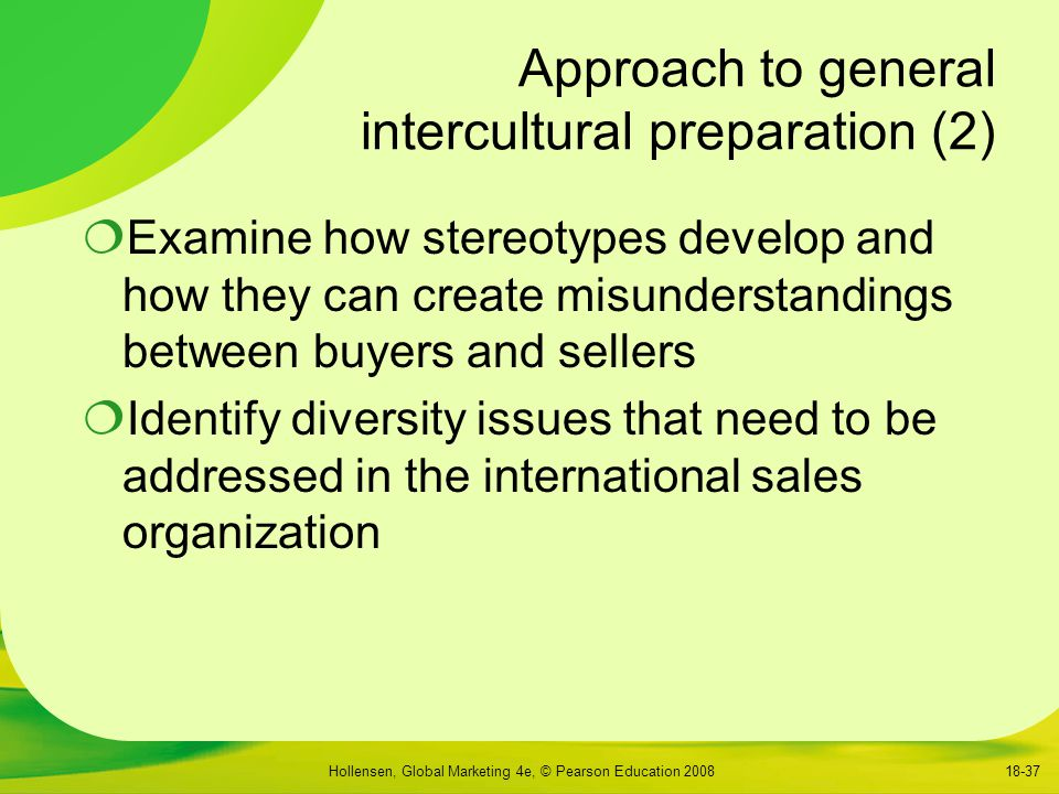 Approach to general intercultural preparation (2)
