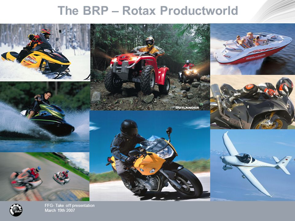 The BRP – Rotax Productworld