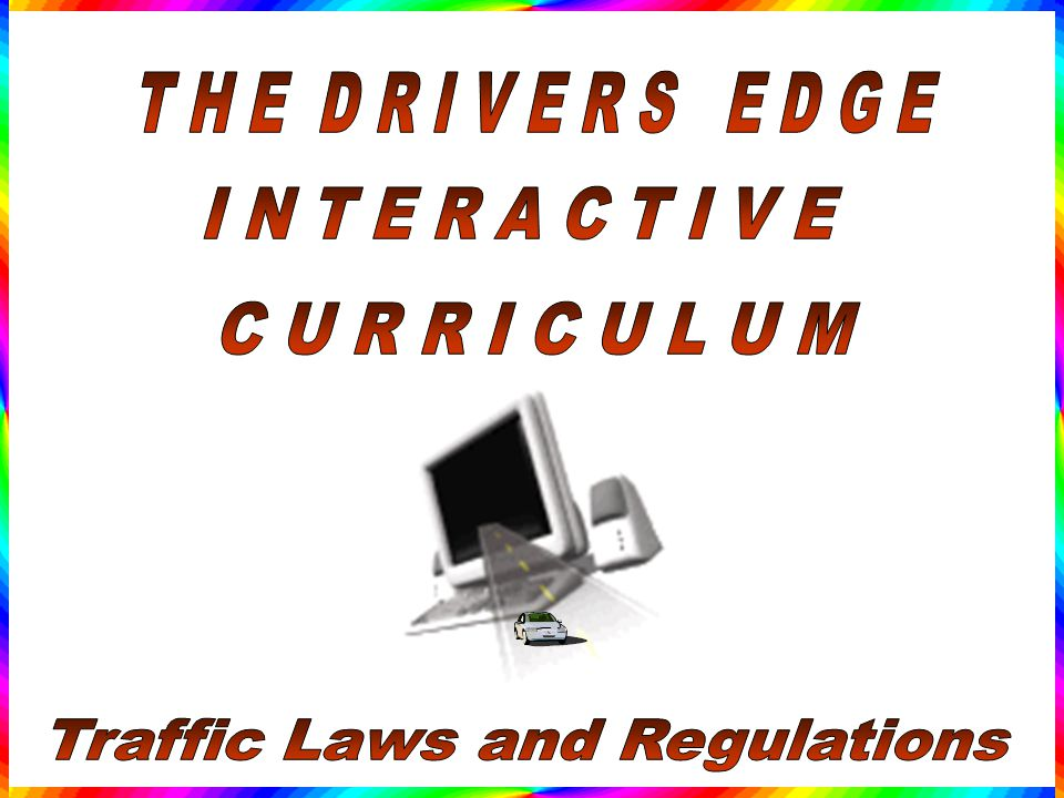 Traffic Laws and Regulations