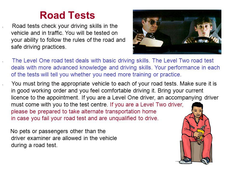 Road Tests