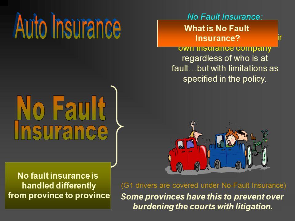 Auto Insurance No Fault No Fault No Fault Insurance