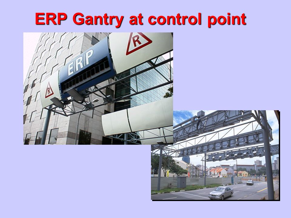 ERP Gantry at control point