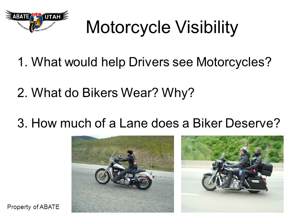 Motorcycle Visibility