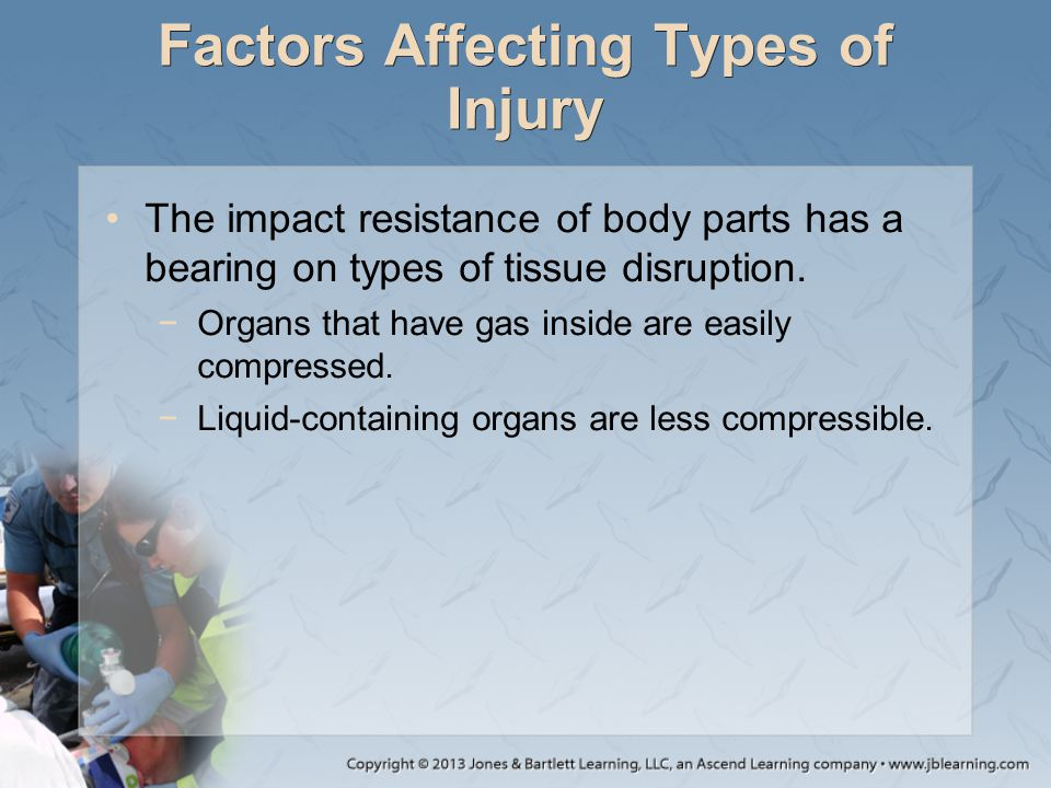 Factors Affecting Types of Injury