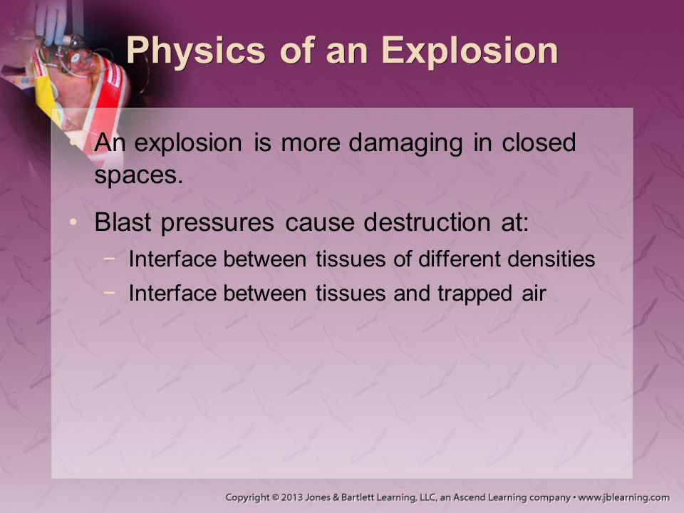 Physics of an Explosion