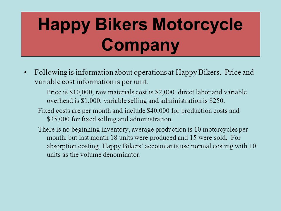 Happy Bikers Motorcycle Company