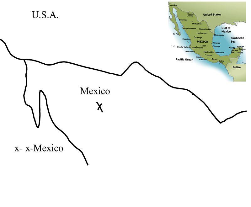 U.S.A. x- x-Mexico Mexico