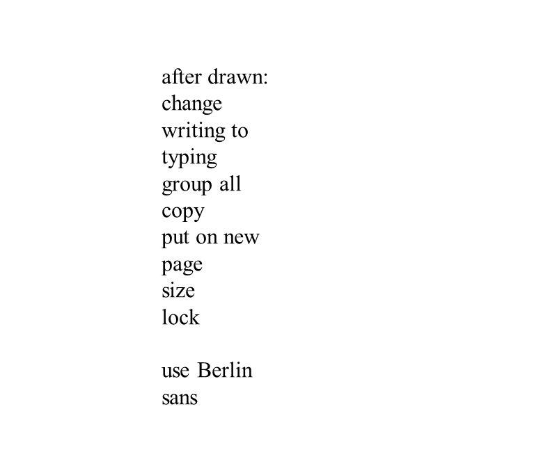 use Berlin sans