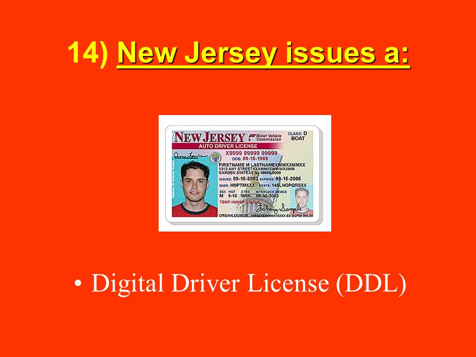 Digital Driver License (DDL)
