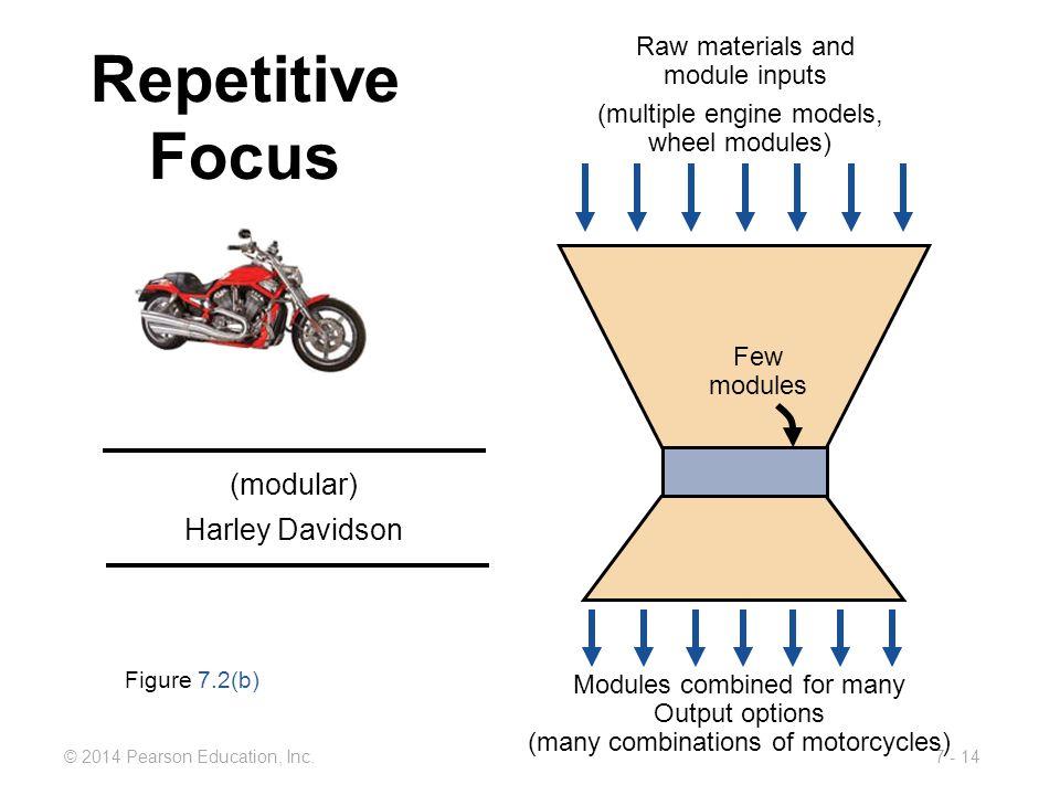 Repetitive Focus (modular) Harley Davidson