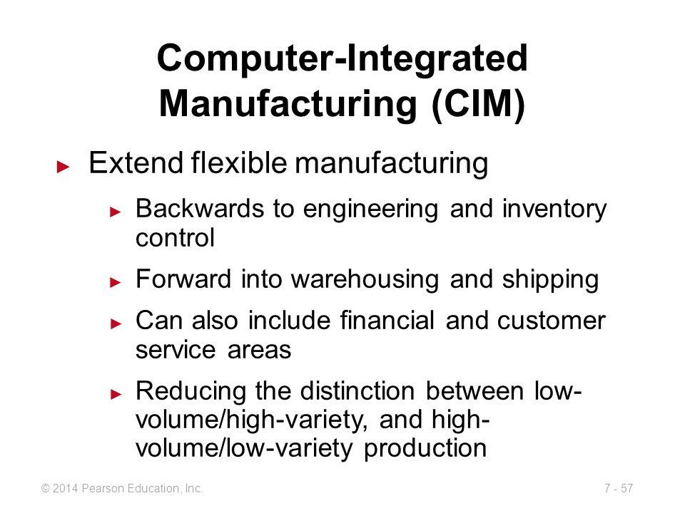 Computer-Integrated Manufacturing (CIM)