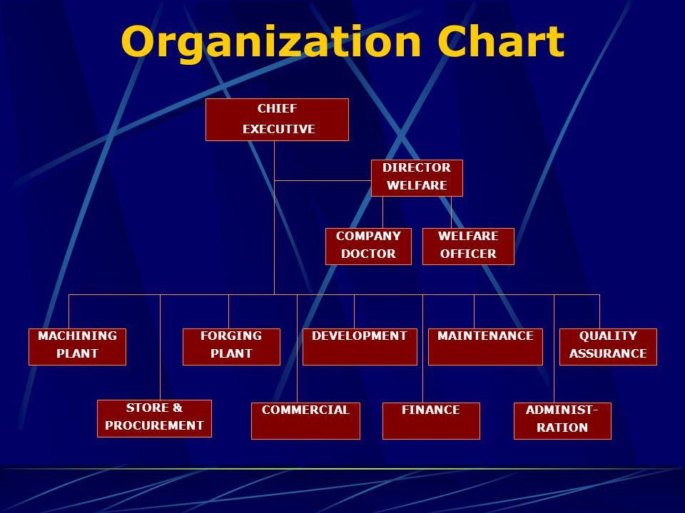 Organization Chart DEVELOPMENT STORE & PROCUREMENT FORGING PLANT