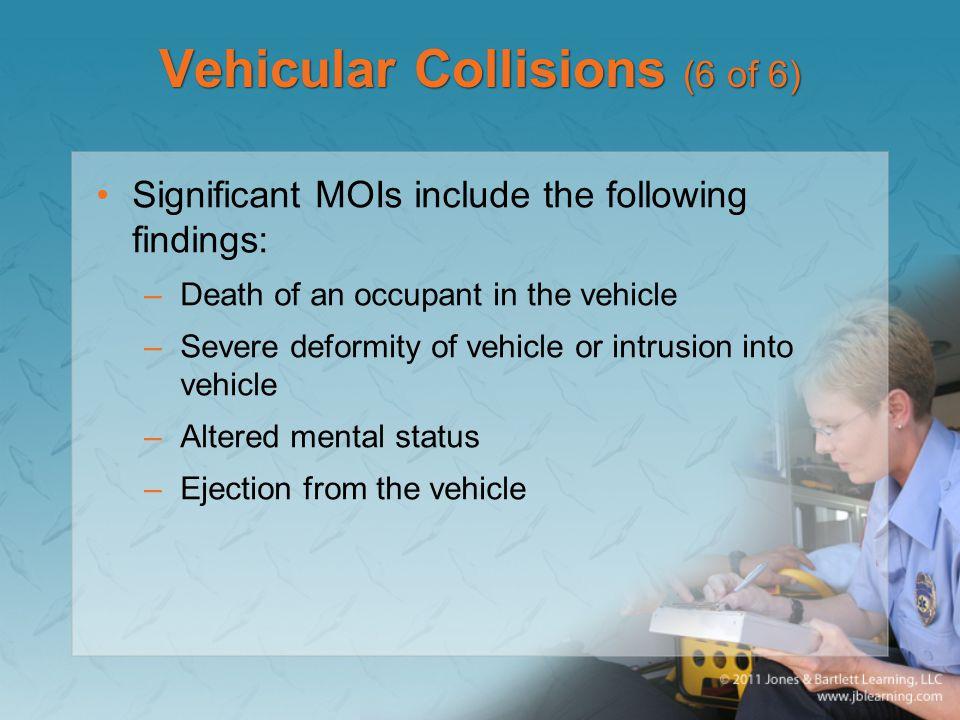 Vehicular Collisions (6 of 6)
