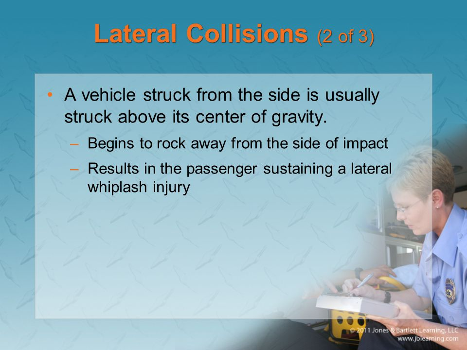 Lateral Collisions (2 of 3)