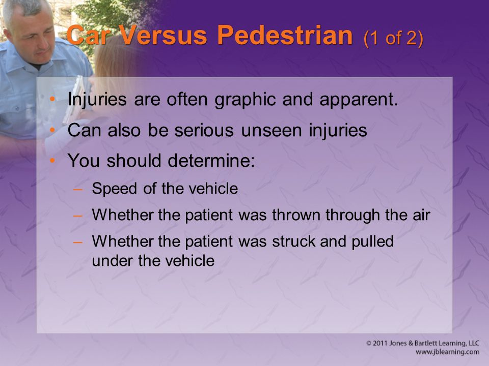 Car Versus Pedestrian (1 of 2)