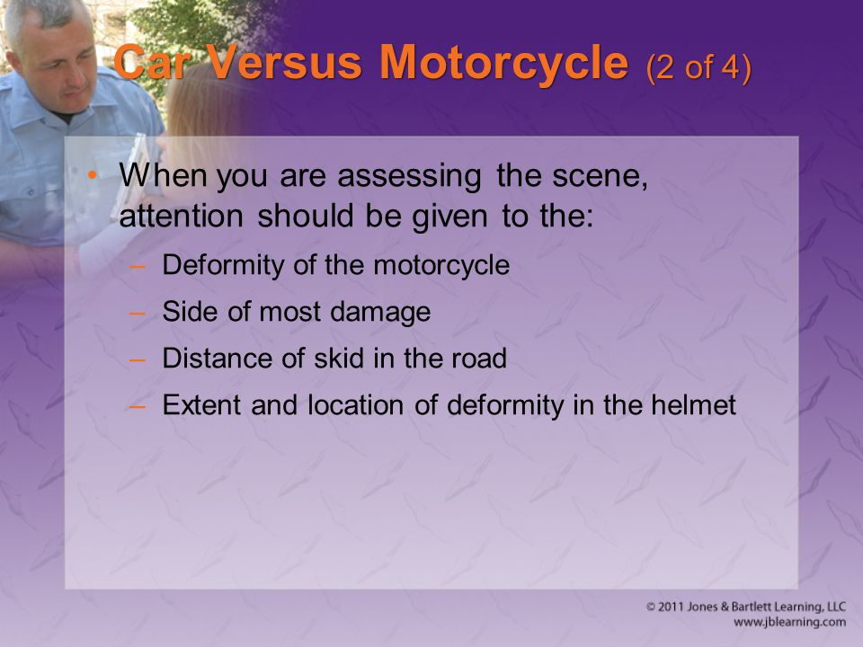 Car Versus Motorcycle (2 of 4)