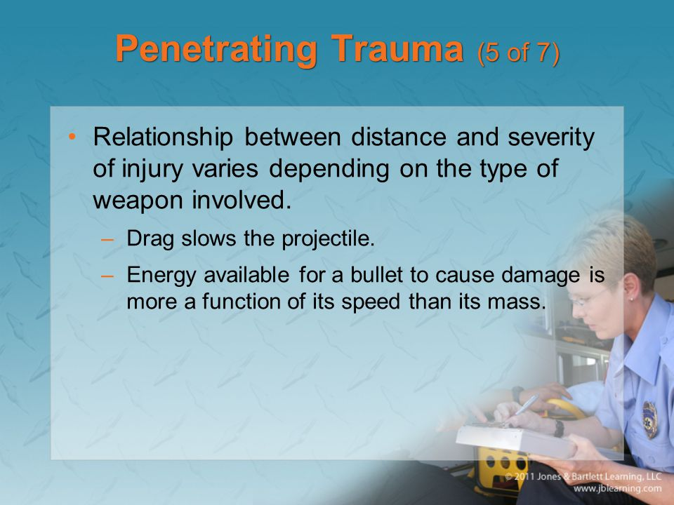 Penetrating Trauma (5 of 7)