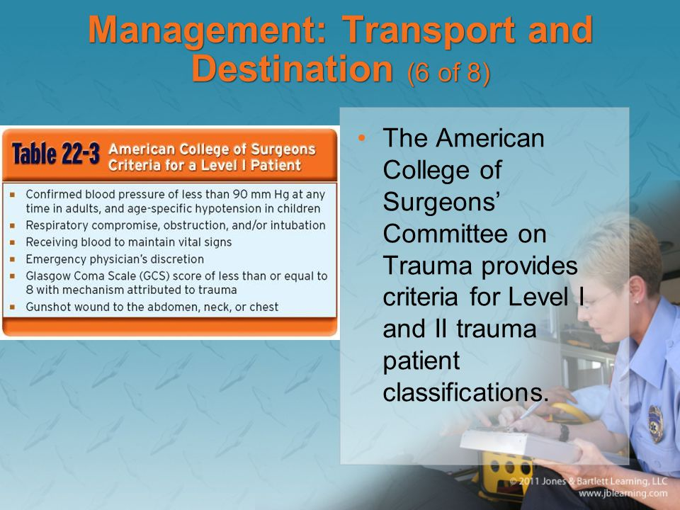 Management: Transport and Destination (6 of 8)