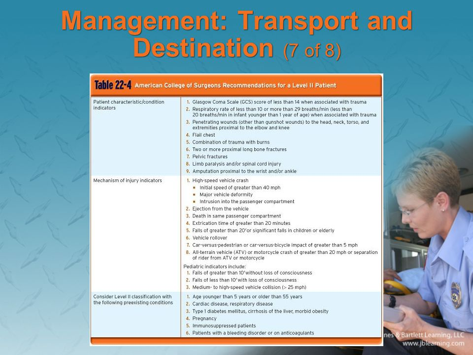 Management: Transport and Destination (7 of 8)