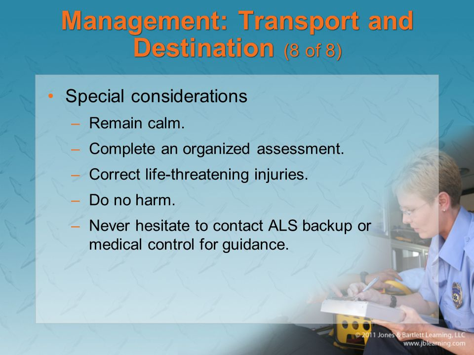 Management: Transport and Destination (8 of 8)